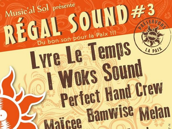 5-6 mai REGAL SOUND CAUNES